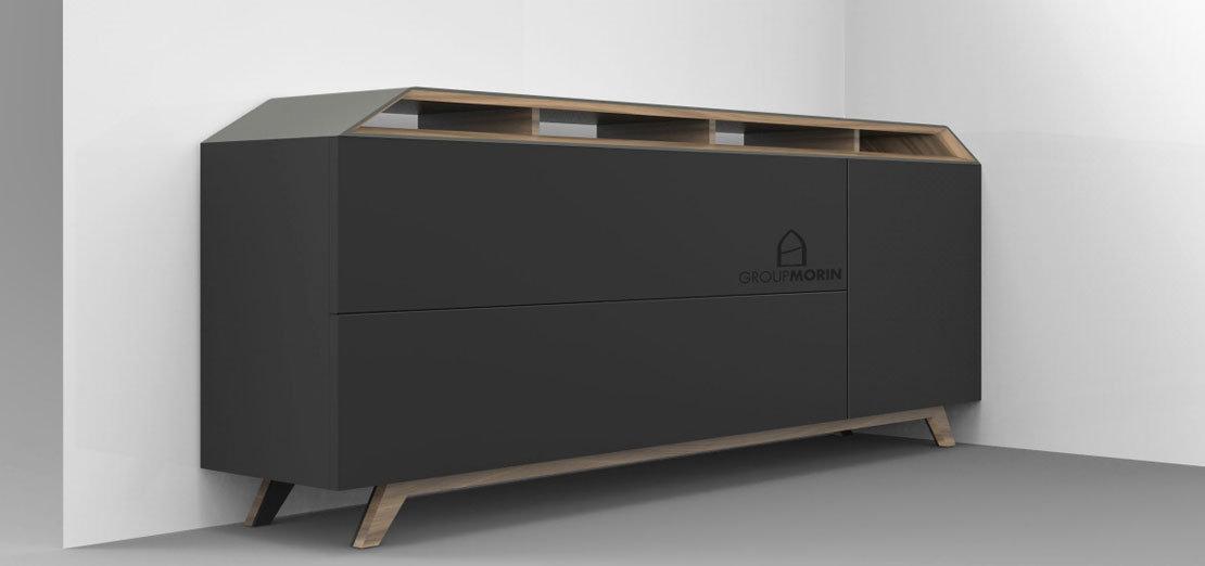 meuble rangement bureau design GroupMORIN
