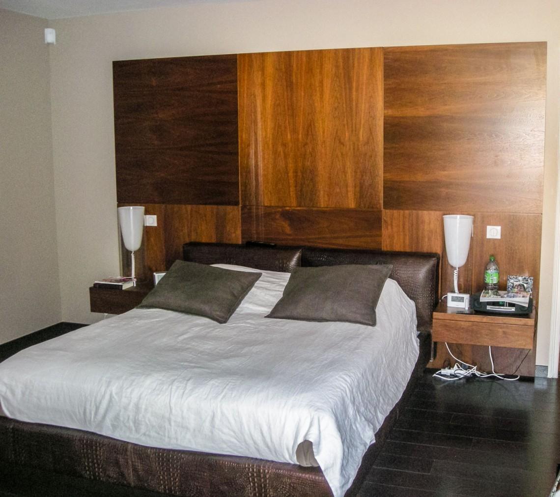 tete de lit sur mesure placard et t te de lit sur mesure. Black Bedroom Furniture Sets. Home Design Ideas